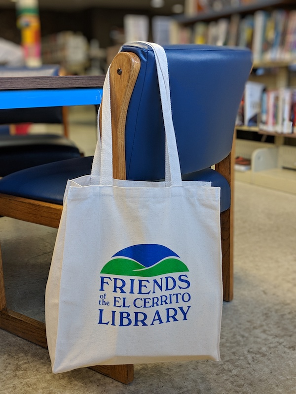 Friends of the LIbrary Book Bag 2018