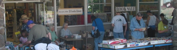 El Cerrito LIbrary Book Sale